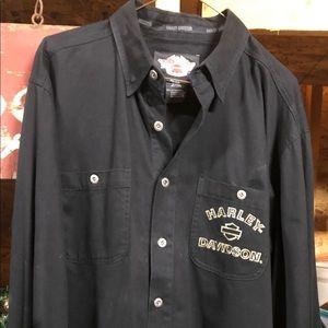 Harley Davidson Long Sleeve Shirt - Men L